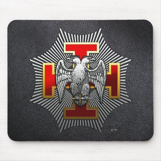30th Degree: Knight Kadosh Mouse Pad