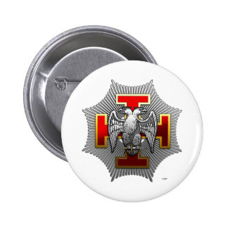 30th Degree: Knight Kadosh Pinback Button