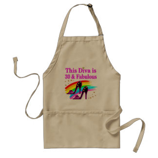 30TH FASHION QUEEN ADULT APRON