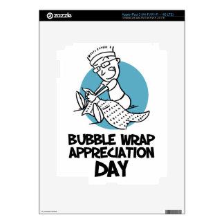 30th January - Bubble Wrap Appreciation Day iPad 3 Decal