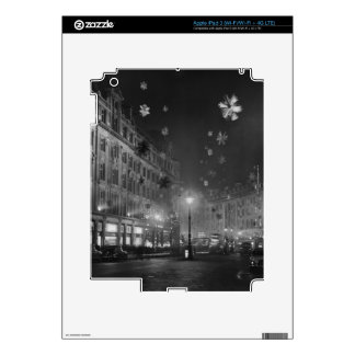 30th November 1955: Christmas decorations Decals For iPad 3