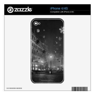 30th November 1955: Christmas decorations iPhone 4S Decal