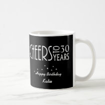30th or ANY AGE Cheers Birthday Gift Mug
