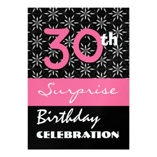 Surprise 30Th Birthday Invitations was very inspiring ideas you may choose for invitation ideas