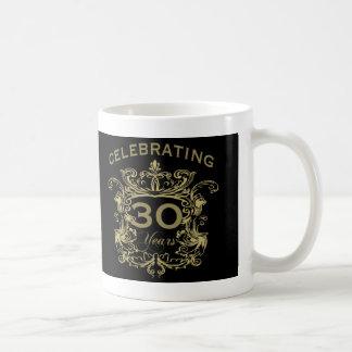 30th Wedding Anniversary Coffee Mug