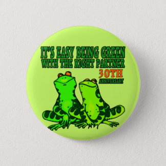 30th Wedding Anniversary Gifts Button