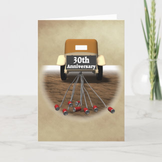 30th Wedding Anniversary Gifts Card