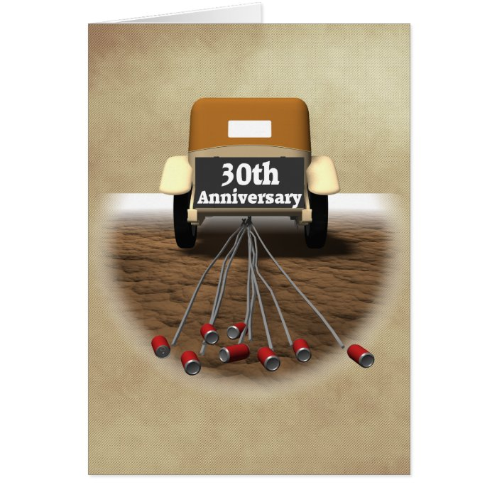 Traditional 30th Wedding Anniversary Gift: 30th Wedding Anniversary Gifts Card