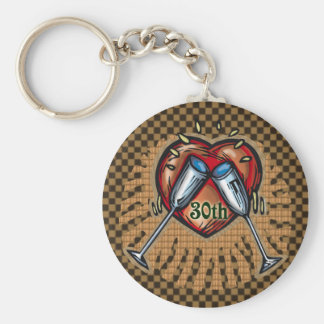 30th Wedding Anniversary Gifts Key Chains
