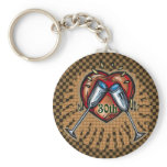30th Wedding Anniversary Gifts Keychain