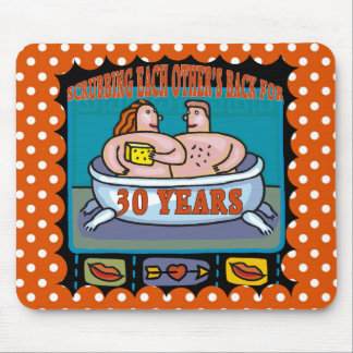 30th Wedding Anniversary Gifts Mouse Pad