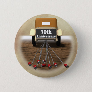 30th Wedding Anniversary Gifts Pinback Button
