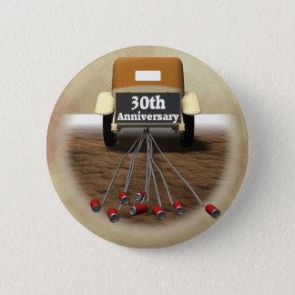 30th Wedding Anniversary Gifts Pinback Button