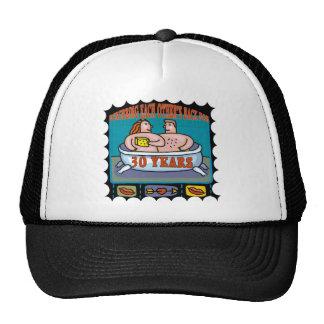 30th Wedding Anniversary Gifts Trucker Hat