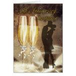 30th Wedding Anniversary Invitation Card - Champag