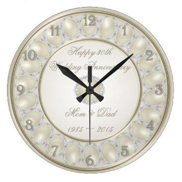 Digitalbcon 30th Wedding Anniversary Wall Clock
