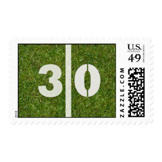 30th Yard Football Postage