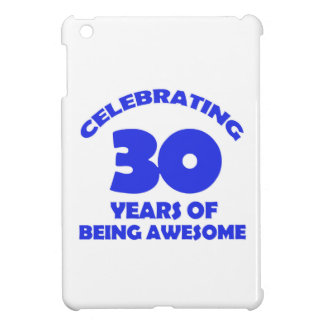 30th year designs cover for the iPad mini