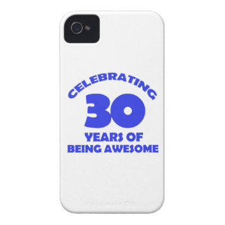 30th year designs iPhone 4 case