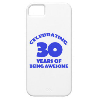 30th year designs iPhone SE/5/5s case