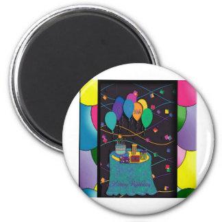 30thsurprisepartyyinvitationballoons copy 2 inch round magnet