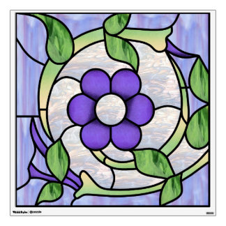 30x30 Nouveau  Window or Wall Decal
