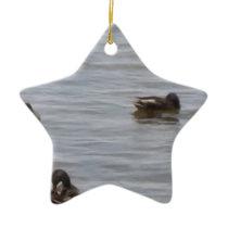 3101ducks ceramic ornament