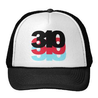 310 Area Code Trucker Hat