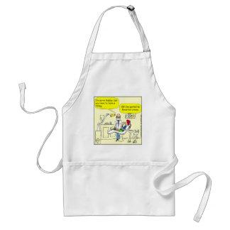 310 filling cartoon adult apron