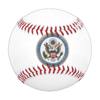 [310] U.S. Department of State (DoS) Emblem [3D] Baseball