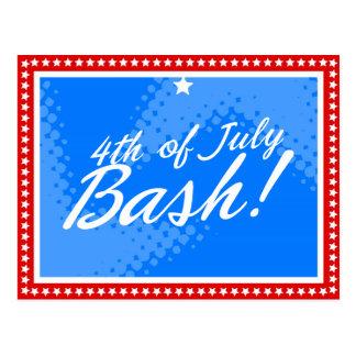 311 #2 FOURTH OF JULY BASH POSTCARD