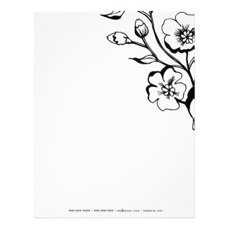 311-311-Lush Black & White Letterhead