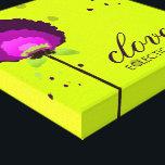 "311 Alluring Allium Neon Canvas Print<br><div class=""desc"">Design by Jill McAmis,  copyright 2011.</div>"