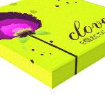 311 Alluring Allium Neon Gallery Wrapped Canvas