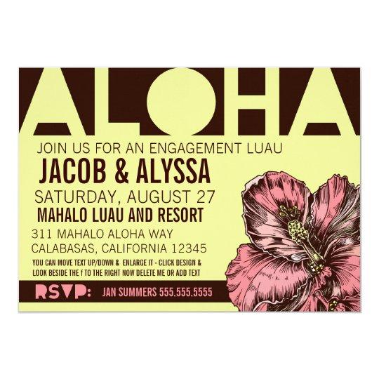 311 Aloha World Lime Pink Card