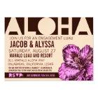 311 Aloha World Peach Purple Card