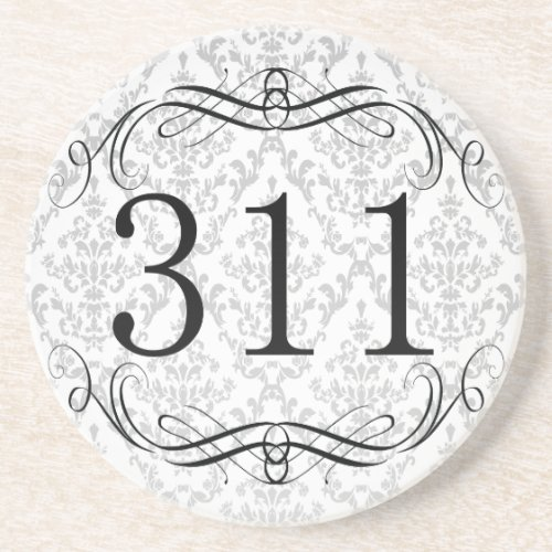 311 Area Code Beverage Coaster