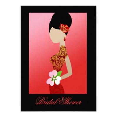 311 Asian Bride Custom Invites