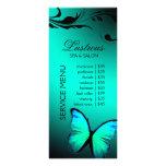 311 azules turquesas brillantes de la mariposa lona publicitaria