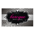 311 Baroque Boutique Hot Pink Business Card
