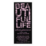 311 Beautiful Life Cancer Free Party Announcement