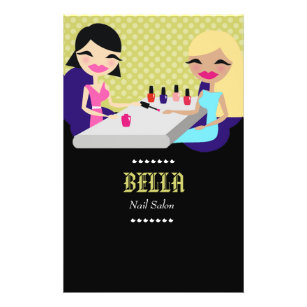 nail salon flyers office products supplies zazzle