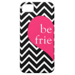 311 Best Friends Heart Chevron Left Side iPhone 5 Covers