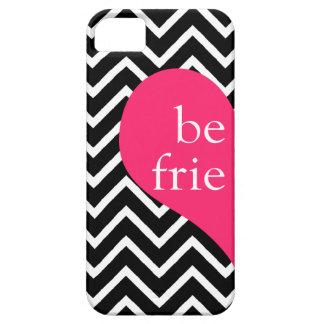 311 Best Friends Heart Chevron Left Side iPhone SE/5/5s Case