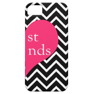 311 Best Friends Heart Chevron Right Side iPhone SE/5/5s Case