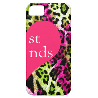 311 Best Friends Multicolored Leopard Right Side iPhone SE/5/5s Case
