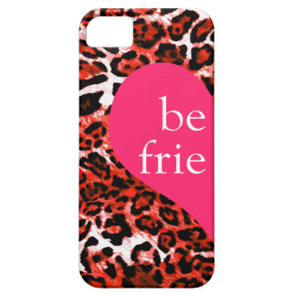 311 Best Friends Rouge Leopard Left Side iPhone SE/5/5s Case