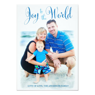 311 Blue Joy to the World Card