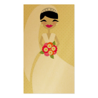 311 BLUSHING BRIDE BUSINESS GOLD CARD Double-Sided STANDARD BUSINESS CARDS (Pack OF 100)