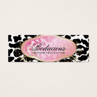 311 Bodacious Boutique Leopard Hang Tag